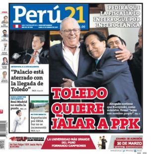 Toledo quiere jalar a PPK