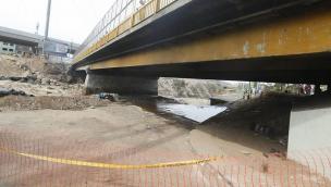 Municipalidad de Lima garantiza la operación del Puente Dueñas tras desborde
