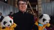 ¿Por qué Jackie Chan llegó a los Oscar 2017 con pandas de peluche?