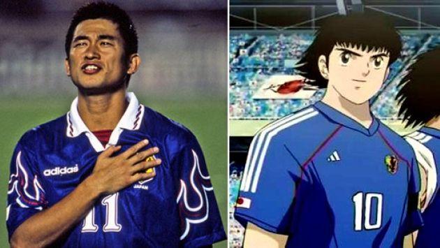 Kazuyoshi Miura inspiró la creación del anime 'Capitán Tsubasa' (Composición: El Comercio)