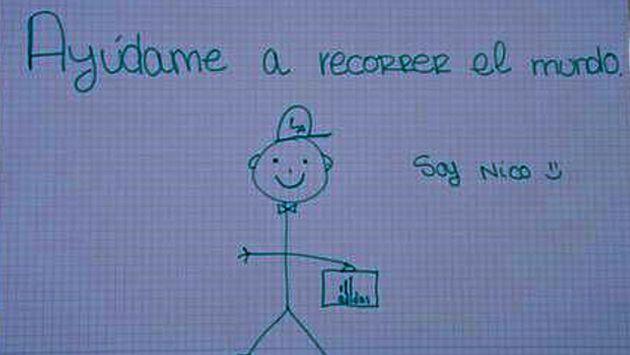 España: ¿Has recibido el dibujo de Nico? (ABC)