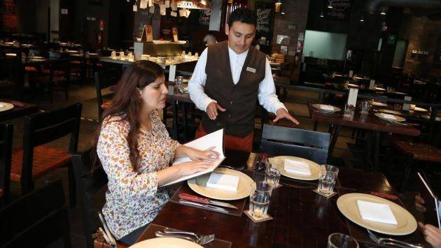 Restaurantes de Lima podrán tener cartas de menú en braille