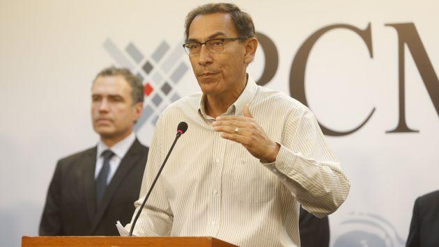 Se ha solicitado al Ministerio Público que interrogue al ministro Vizcarra.