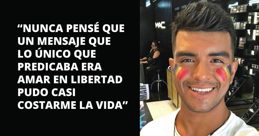 Carlos Checa espera poder identificar a las personas que lo atacaron para que este acto de homofobia no quede impune.