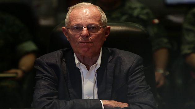 Pedro Pablo Kuczynski indicó que salida de Odebrecht del país se daría en 6 meses . (Perú21)