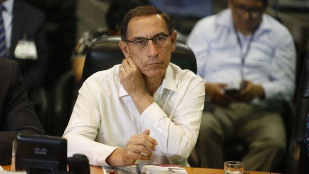 La moción de interpelación a Martín Vizcarra ha sido presentada con el respaldo de 33 congresistas. (Mario Zapata/Perú21)