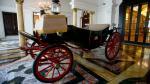 Calesas presidenciales se lucen en Palacio de Gobierno (Fotos) - Noticias de peter shilton