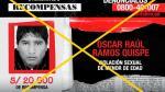 'Los más buscados': Capturan a sujeto por haber violado a un menor de edad - Noticias de jose ramos