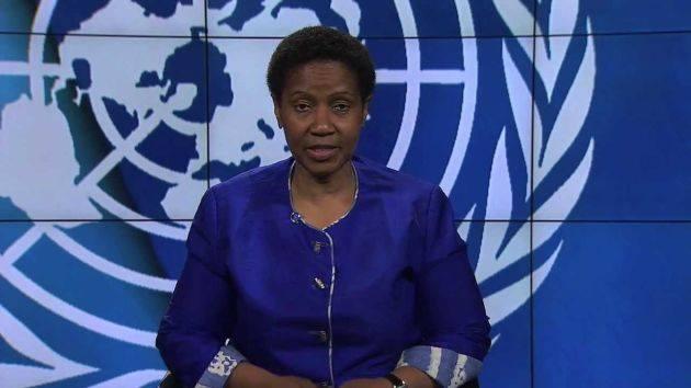 Phumzile Mlambo-Ngcuka, directora ejecutiva de ONU Mujeres. (Captura)