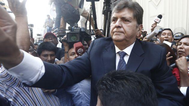 Ex presidente asegura colaborará con las investigaciones (Renzo Salazar)