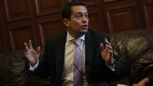 Rechazo. Congresista considera que se quiere generar tensión. (Anthony Niño de Guzmán/Perú21)