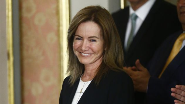 Marilú Martens está comprometida en que los jóvenes adopten el respeto de forma íntegra. (Perú21)