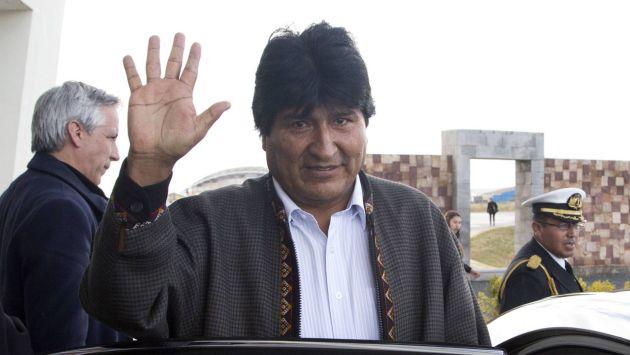 Evo Morales padece por un tumor en la garganta (Foto: AP)