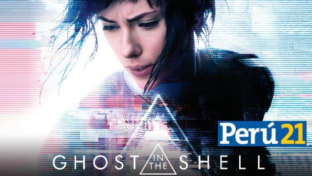 ¡Perú21 sortea 100 entradas dobles para el avant premiere de la película 'Ghost in the shell'!