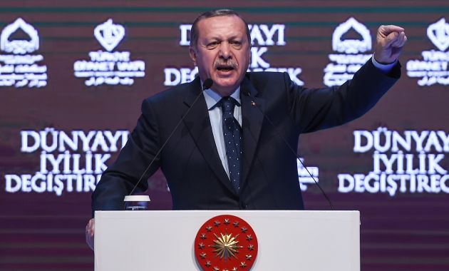 Reccep Tayyip Erdogan calificó de