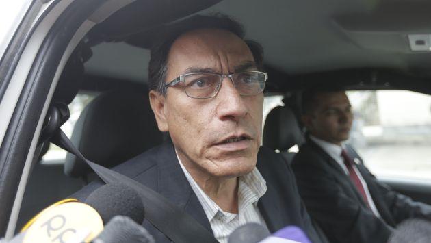 Martín Vizcarra comienza con una polémica frase la semana en la que será interpelado. (Anthony Niño de Guzmán/Perú21)