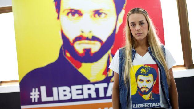 Esposa de Leopoldo López no pudo ingresar a Ecuador. (Reuters)