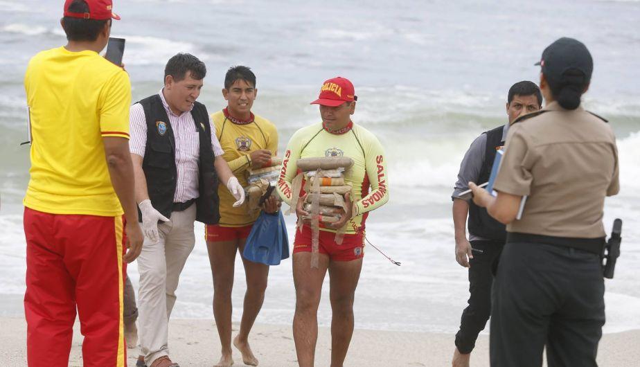 Punta Hermosa: Así fue el hallazgo de una lancha repleta de droga [FOTOS]
