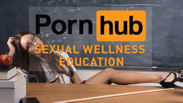 Un nuevo espacio para aprender sobre sexualidad con datos de expertos. (PornHub)