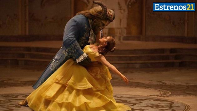 'La bella y la bestia' llegó a nuestros cines.