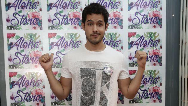 El actor Andrés Vílchez aseguró sentirse emocionado por la tercera parte de Ven, baila quinceañera. (Créditos: Anthony Niño de Guzmán)