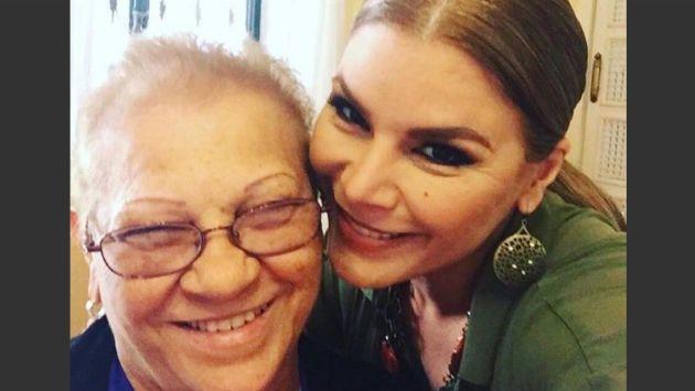 Falleció la madre de la cantante puertorriqueña Olga Tañon. (Créditos: Instagram Olga Tañon)