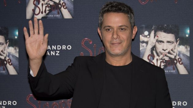 Alejandro Sanz mandó un mensaje y dijo que está con el Perú en estos momentos críticos. (AFP)