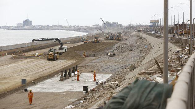 Costa Verde. Desde noviembre de ese año se solicitó ampliación de plazos de ejecución y presupuestos adicionales. (Perú21)