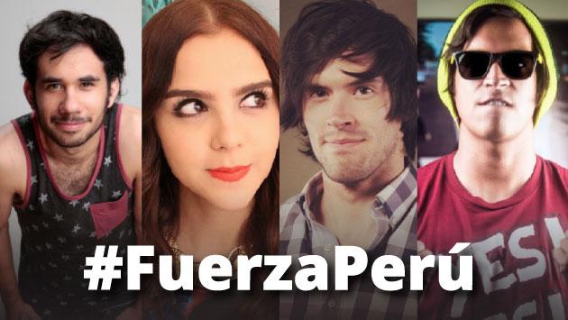Los famosos 'youtubers' se pronunciaron en Twitter. Foto: Composición