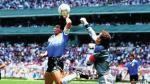 Maradona repitió 'la mano de Dios' en partido de exhibición - Noticias de selección de méxico sub 20