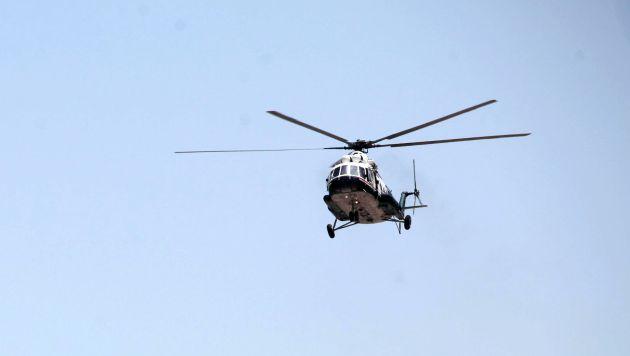 Los traslados se realizaron en un helicóptero MI 17 PNP.. (Perú21)