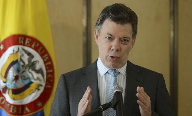 Juan Manuel Santos, presidente de Colombia (Las2orillas).