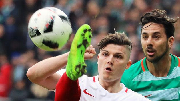 Claudio Pizarro, jugador del Werder Bremen. (EFE)