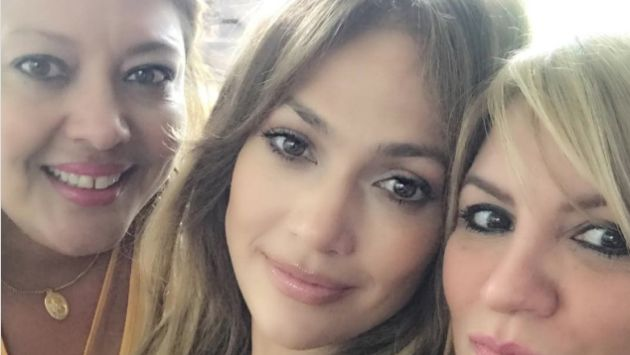 Jennifer López aparece en la foto de la hermana de Álex Rodriguez (Captura)