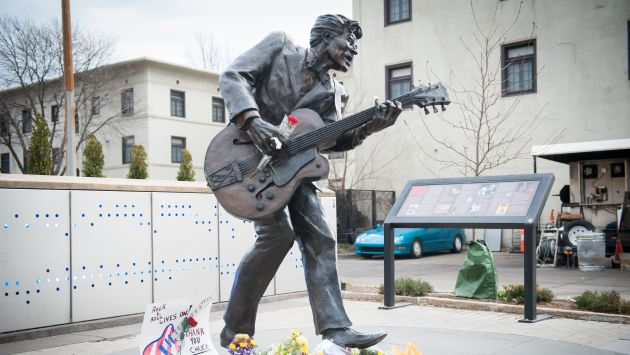 Estrellas de la música lamentan la muerte de Chuck Berry. (AFP)