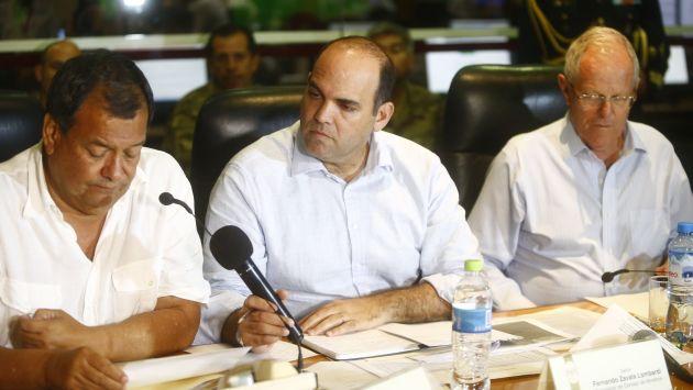 Fernando Zavala aseguró que gobierno no tolerará ningún acto de corrupción. (Perú21)