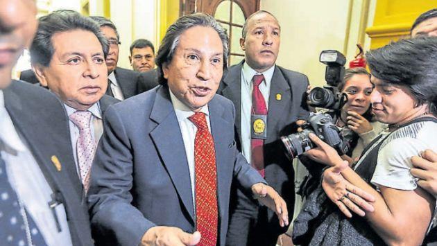 Prófugo. Alejandro Toledo asegura no haber recibido sobornos de la empresa Odebrecht. (USI)