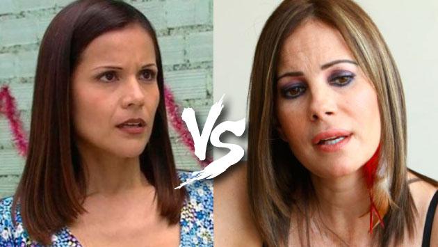 Karina Calmet rechazó la participación de la popular ''Charito' en un programa de *América TV* a favor de los damnificados del huaico. (Foto: Composición)