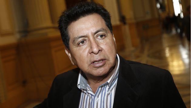 Recomendó un reordenamiento territorial (César Fajardo/Perú21)