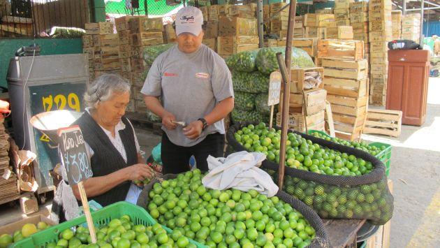 Llegaron 311 toneladas de limón de diferentes puntos del país.