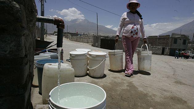 Sedapal informará esta noche sobre abastecimiento de agua en Lima y Callao. (USI)