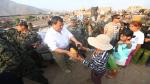 Carapongo: FF.AA. entregaron mil desayunos a damnificados de huaico [Fotos] - Noticias de ejército peruano