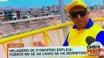 Estos son los memes de la polémica respuesta de la Municipalidad de Lima sobre caída del Puente Talavera - Noticias de alcalde