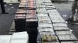 Callao: Millonaria carga de droga iba a Bélgica
