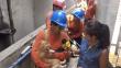 Trabajadores de Sedapal rescataron a perrita arrastrada por huaico [Video]