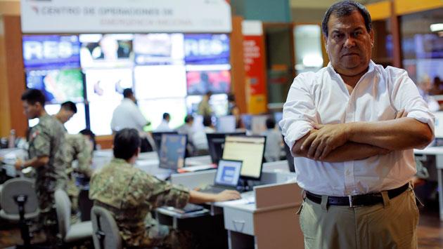 Jorge Nieto, ministro de Defensa. (David Huamaní)