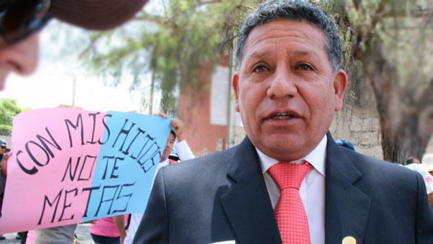 Ricardo Medina, regidor de la municipalidad provincial de Arequipa. (Miguel Idme)