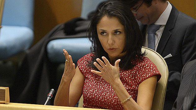 La ex primera dama, Nadine Heredia. (Perú21)