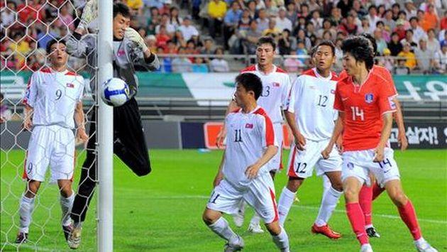 200 aficionados surcoreanos asistirán al partido en Changhsa. (Foto: AFP)