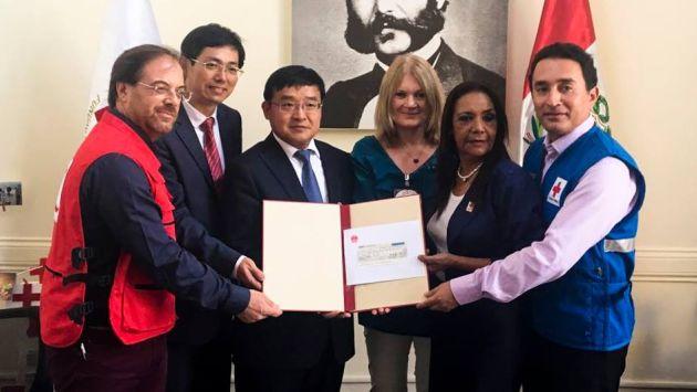 Cruz Roja Chilena también se comprometió en brindar apoyo. (Foto: Cruz Roja Peruana/ Facebook)